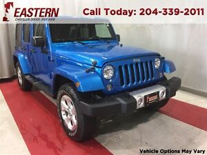 2015 Jeep WRANGLER UNLIMITED Sahara Keyless Entry Touch Screen