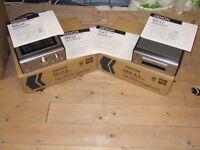 DENON SEPARATES - Amplifier; CD player, Audio cassette player; Tuner + Denon Sound System Speakers.