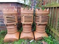 Big chimney pots