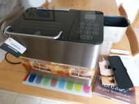Kenwood BM450 Bread Machine with spare Bread Pan/Kneading Blade.Books.Spoon etc