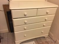 Ducal Pine 5 drawer chest of drawers