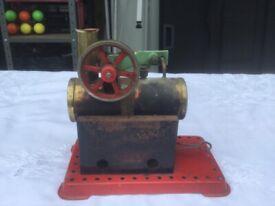 Stationary steam engine (Mamod)