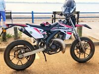 50cc supermoto (offers) not for sale yet will be soon looking to see what I can get