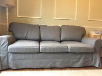 Ikea Ectorp sofa and sofa bed