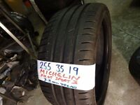 255 35 19 MICHELIN PRIMACY PILOT 3 ONLY DONE 100 MILES NO PUNCTURES £50 supp & fitd (LOADS MORE 19s