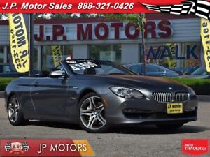 2012 BMW 6 Series 650i, Auto, Navi, Convertible, Only 47, 000km