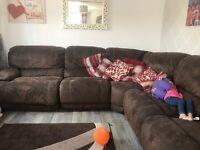 Huge corner sofa