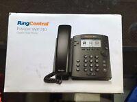Desk Phone - NEW - Ring central - Polycom VVX 310 Gigabit