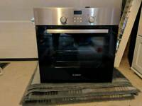 Bosch integrated single oven