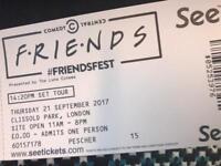 2 Friends Fest tickets in London (21/09)