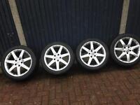 """17"""" Mercedes alloy rims"""