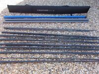 Avanti azure fishing pole C/W holder