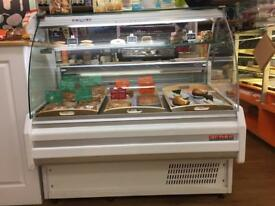 counter display fridge