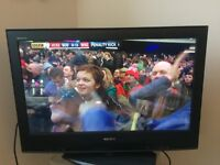 31 Inch SONY TV screen with remote