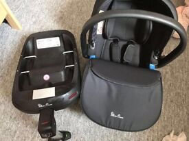 Silver cross simplicity car seat and isofix