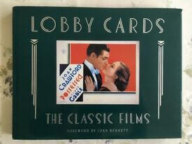 Lobby Cards - The Classic Films book HB 1988