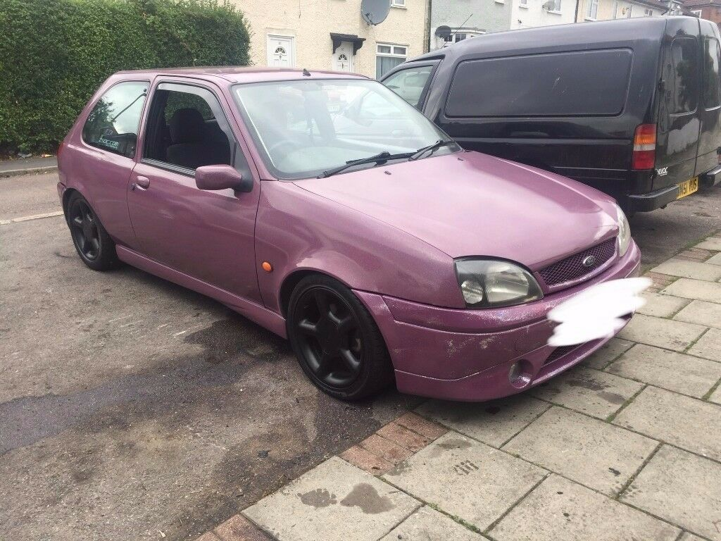 ford fiesta zetec s mk 5 modified,2001,purple flip paint coilovers etc,£1300,no offers