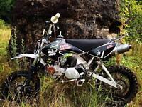 Thumpstar pro 25 hunge pit bike dirt bike 125cc yx120 140 pitbike