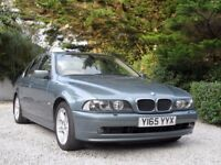 BMW 525i SE E39. Immaculate condition throughout.