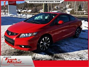 2013 Honda Civic COUPE SI GARANTIE PROLONGÉE