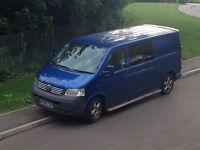 vw transporter day van / camper / surf bus T30, T5