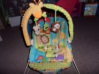 Fisher Price Bouncing Chair with Music and Vibration