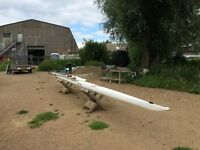 Burgashell single scull for sale