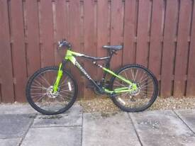 "Men's gradient apollo 20"" mountain bike"