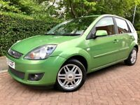FORD FIESTA 1.4 TDCi GHIA**LEATHER INTERIOR**5 Door**£30 Year Tax