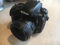 Nikon d800 + Nikon 50mm f1.4g lens