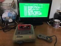 Snes Super Nintendo console and games