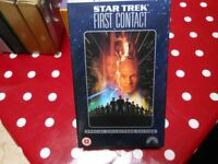 Star Trek First Contact VHS Video Special Collectors Edition