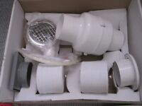 MANROSE 100MM INLINE CENTRIFUGAL SHOWER FAN KIT - NEW