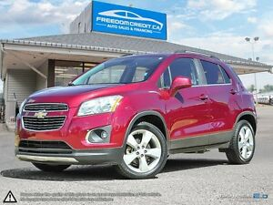 2014 Chevrolet Trax LTZ LTZ AWD Loaded Leather Sunroof