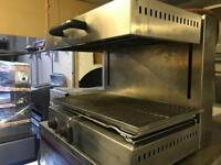 Electric salamander grill lift type grill commercial catering kitchen equipment restaurant takeaway