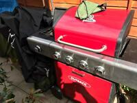 Outback 5burner BBQ gas