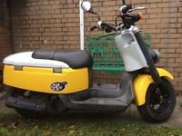 BREAKING FOR PARTS 2010 YAMAHA GIGGLE FX50