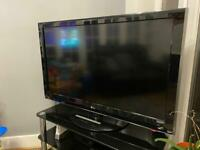 50inch LGtv and stand