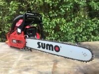 """Sumo 38cc 16"""" Petrol Chainsaw (made by Handy) + WARRANTY! RRP £120!"""