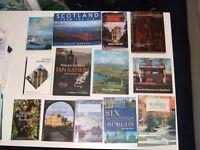 Scottish books - Architecture,buildings,Burrell,Heritage trees,Rebus's Scotland,Victorian Scotland.