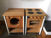 Lovely wooden play kitchen