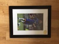 Official Frank Lampard Signed Photo Frame