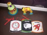 Baby/toddler toys £3 each