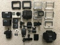 Go Pro Hero 4 Black Edition MEGA BUNDLE BRAND NEW