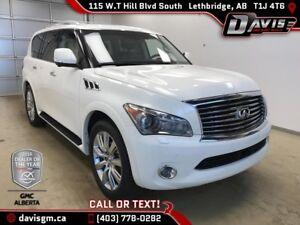 Used 2013 INFINITI QX56-7 Passenger, Heated/Cooled Leather, Nav,