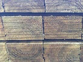 🍁New Tanalised Feather Edge Fence Pieces • Panels • Timber