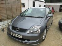 HONDA CIVIC TYPE S, 04 REG