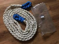 Britpart Kinetic Rope-octiplait 8x24metre, recovery rope