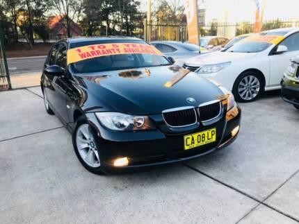 MY07 2006 BMW 3 Series Luxury 320i LOW KS LOGBOOKS 2 Keys BLACK ! Sutherland Sutherland Area Preview