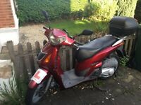 Starts and Rides everytime, can be used for spares, MOT exp Sep17